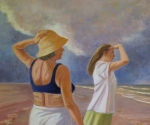 40. Women and Clouds I